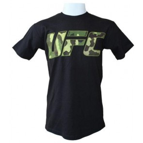 UFC 'Jungle Camo' shirt black