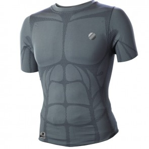 UFC 'Performance' rashguard short sleeves grey