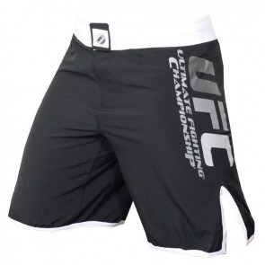 UFC 'Solid Colour' fight shorts black