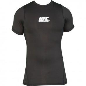 UFC 'Team' rashguard short sleeves black