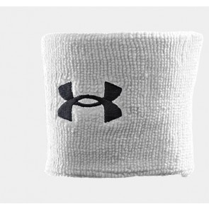 Under Armour 'Performance' wristbands white