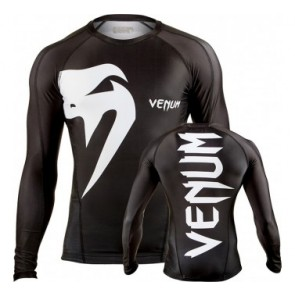 Venum 'Giant' rashguard long sleeves black
