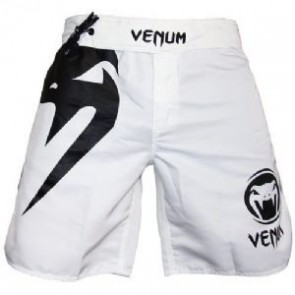 Venum 'Light White' fight shorts
